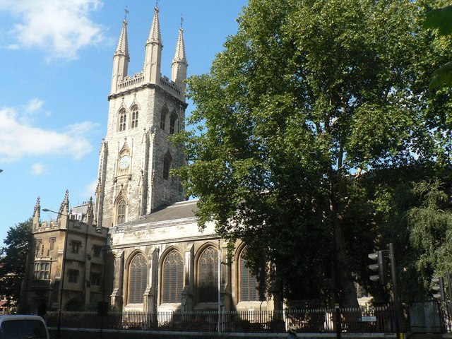 City parish churches: Holy Sepulchre without Newgate