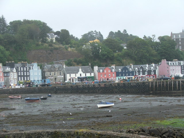 Tobermory Front, on the Isle of Mull