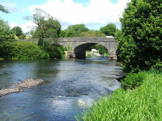 Town Bridge over the River Erne, Belturbet.