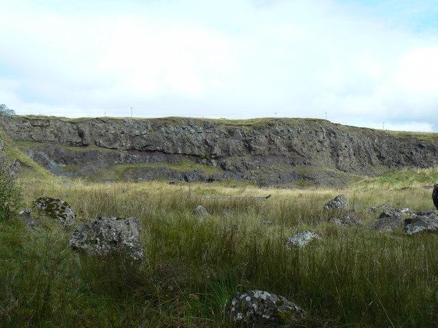 Old Quarry on Haylie Brae