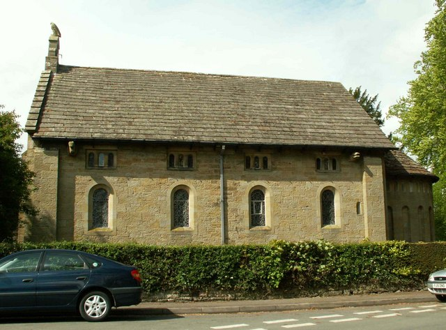 St. Mary's Church Wreay, side view
