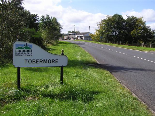 Road at Tobermore