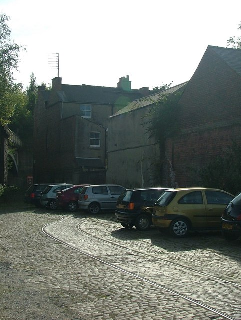 Remains of Short Street in Derby (off Friar Gate)