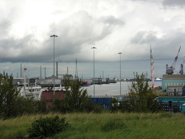 River Tees from Cargo Fleet (downriver)