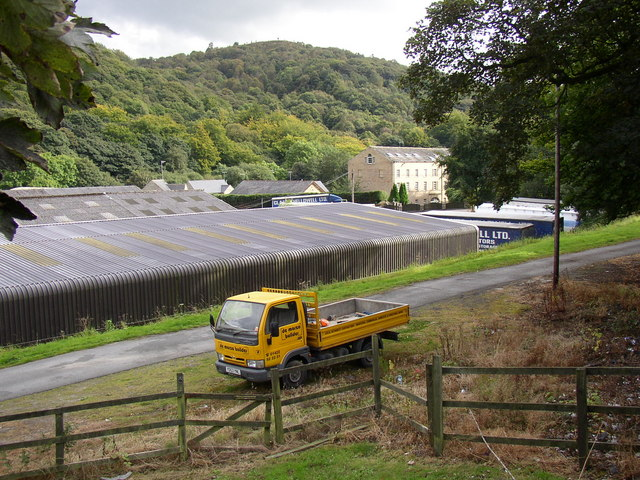 Haulage Depot and former mills, Rochdale Road, Sowerby