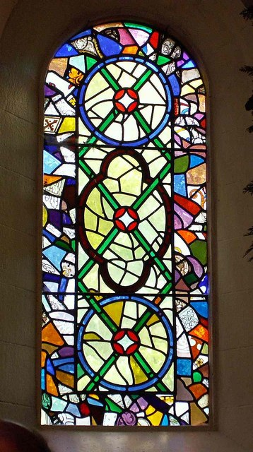 Wreay Church -stained glass window