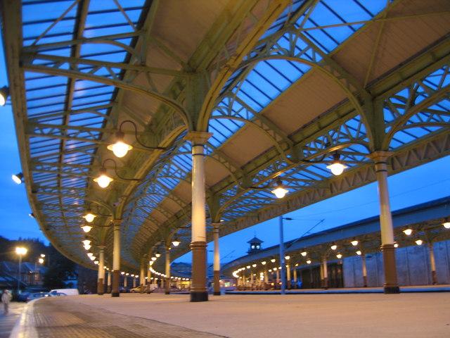 Wemyss Bay Station Platform.