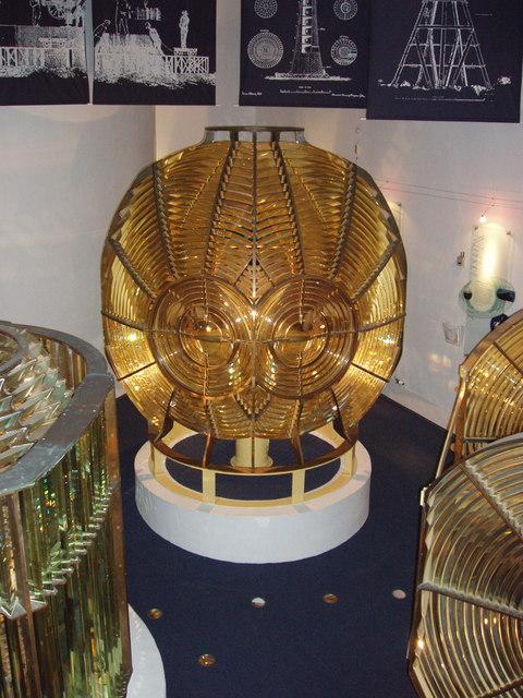 Fresnel lens assemblies, Museum of Scottish Lighthouses