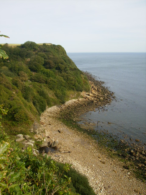 Hayburn Wyke from The Cleveland Way long distance footpath