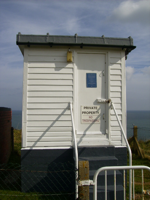 Long Nab Bird Hide - formerly a Coastguard Lookout