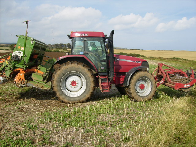Well equipped tractor near Crook Ness