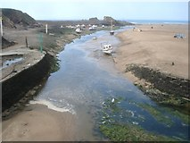 SS2006 : River mouth at Bude by Trevor Rickard