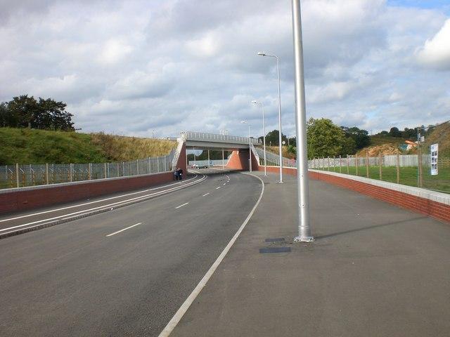 New Railway bridge for Rugeley to Stafford railway line