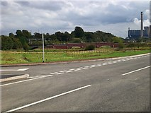 SK0418 : Restored bridge over River Trent from Rugeley Bypass by Jack Barber