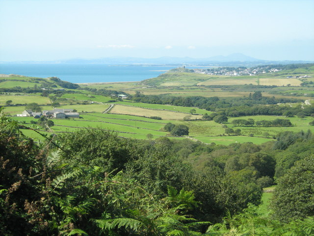 Looking towards Ty-mawr