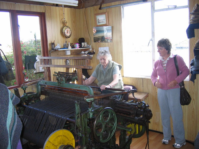 Plocrapol, Harris Tweed weaving
