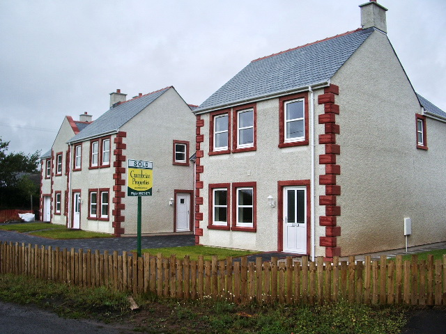 New housing, Langrigg