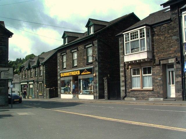 Main village street