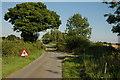 SO8131 : No Through Road, Eldersfield Marsh by Philip Halling