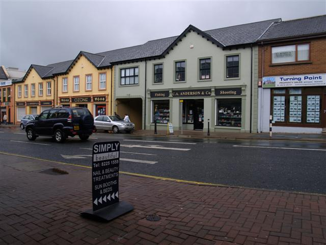 C A Anderson & Co, Market Street, Omagh