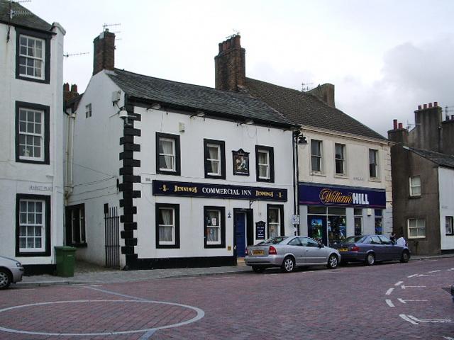 Commercial Inn, Market Place, Workington