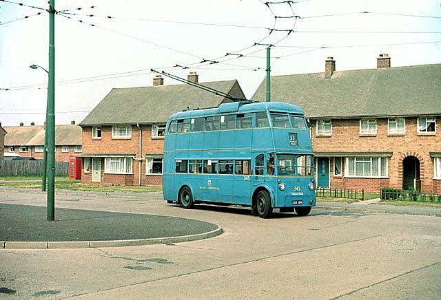 British Trolleybuses - Walsall