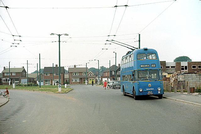 British Trolleybuses - Walsall