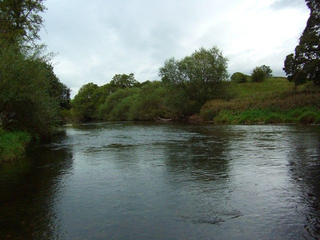 The River Eden at Julian Bower
