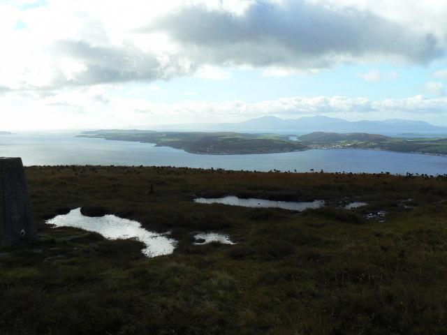 View from Buachailean