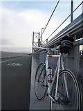 NT1279 : Fixie Inc Peacemaker on the Forth Road Bridge by Anthony Robson