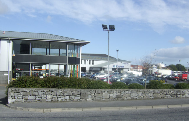 Offices and car dealerships