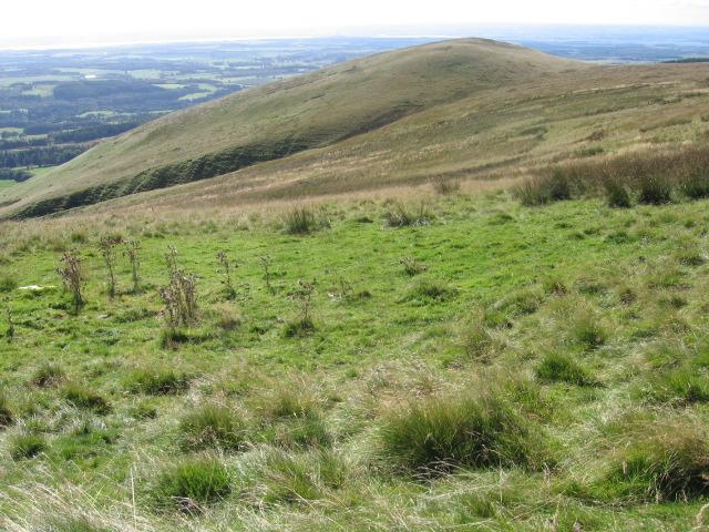 Castleton Hill from Commonedge Hill