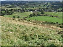 NN9901 : Towards Pool of Muckhart from Semab Hill by Chris Wimbush
