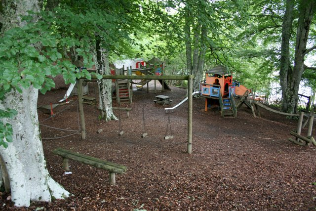 Children's Playpark, Loch Insh