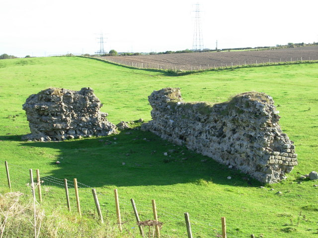 Burrow Walls Roman Fort