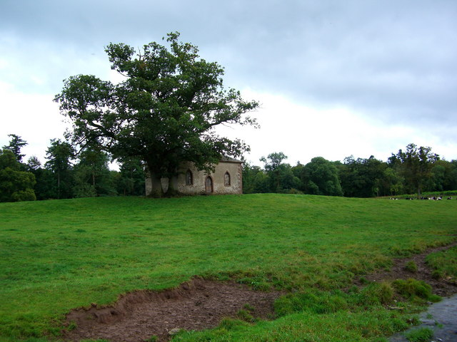 Old Building in front of Town Wood