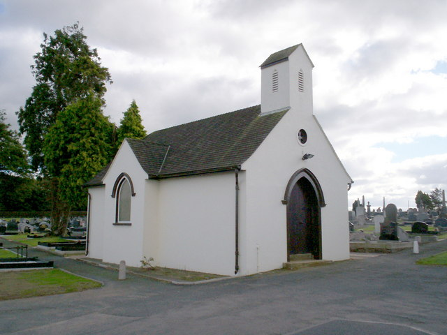 Former Chapel at the Lurgan  New Cemetery