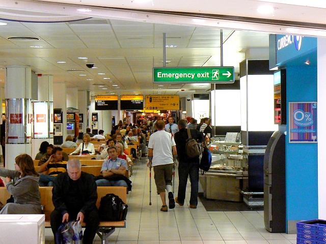 Inside Terminal 2 London Heathrow airport