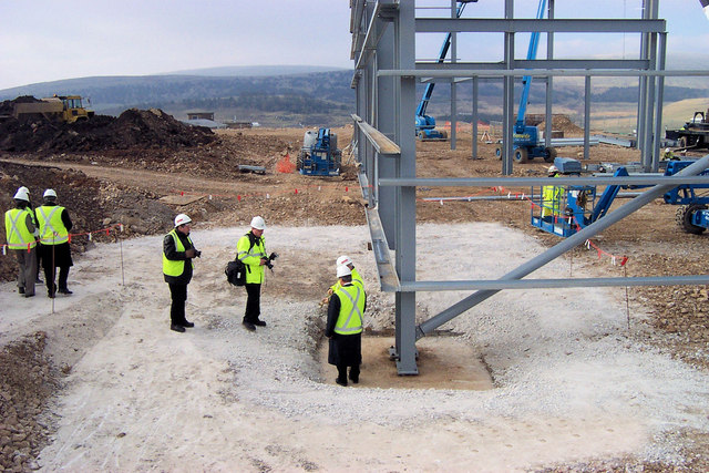 Bolt tightening Ceremony at the New HSE Laboratory near Buxton