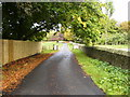 NZ3052 : The driveway to Bowes House on the Lambton Estate by Phil Catterall