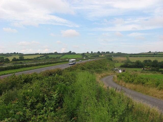 M1 motorway at Balgatheran, Co. Louth