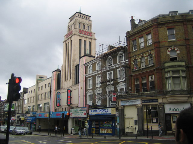 Kilburn: The former Gaumont State Cinema