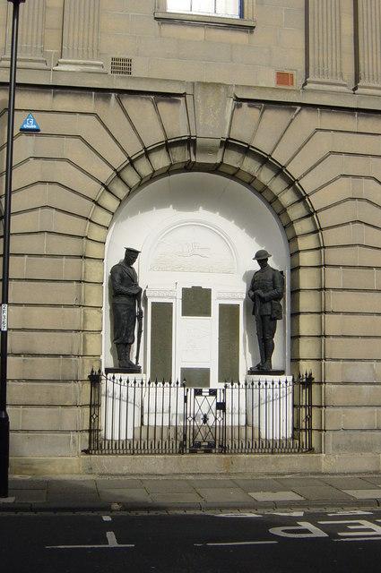 Memorial Hall detail