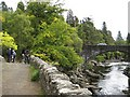NH4116 : Bridges at Invermoriston by Lis Burke