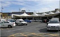 SE1632 : Bradford Interchange - Entrance by Betty Longbottom