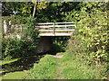 SJ2519 : Montgomery Canal, bridge No. 98 by John Haynes