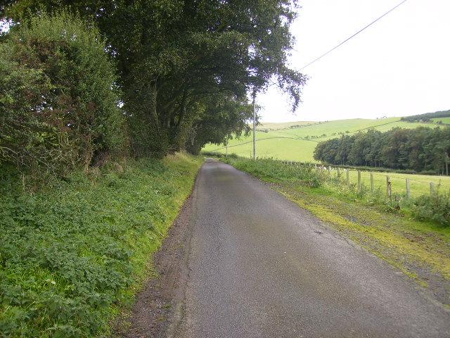 Lane to Hethpool