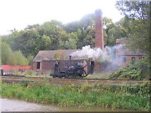 SJ6903 : Trevithick locomotive at Blists Hill by M J Richardson
