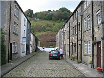 SD9323 : Market Street Todmorden by Paul Anderson