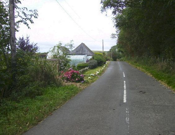 The B727 near Gledpark